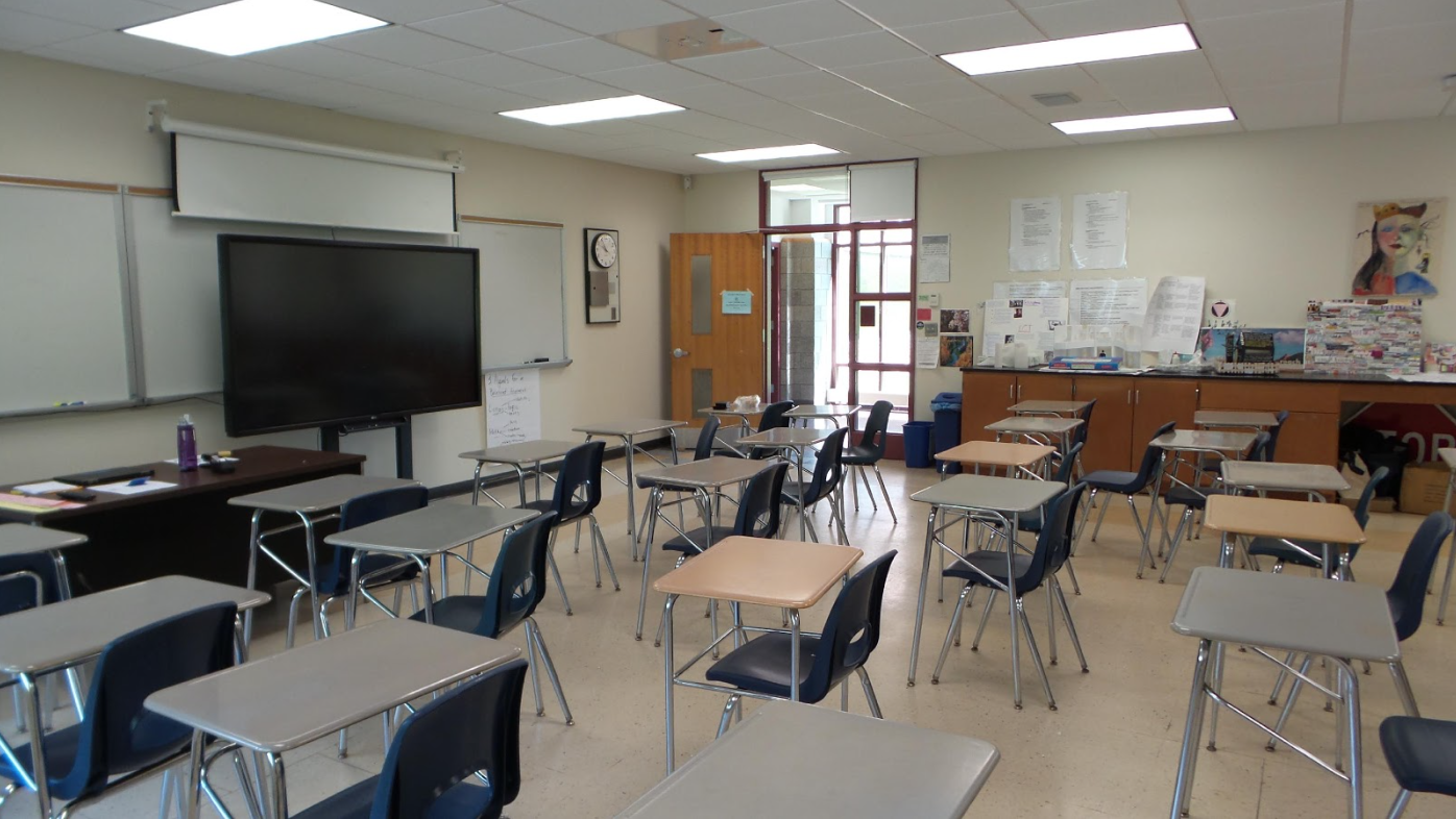Before The Classroom Redesign, It Was Difficult To Initiate Group Work With  Immobilized Desks And Chairs. There Were Also No Areas For Small Groups To  ...